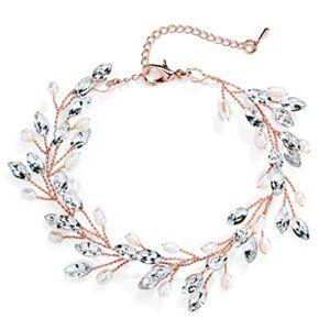 Lovely Gems and Freshwater Pearls Bracelet